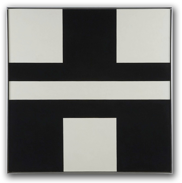 frederick hammersley black and forth 1971