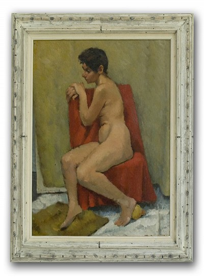 Lala (rested nude), 1946